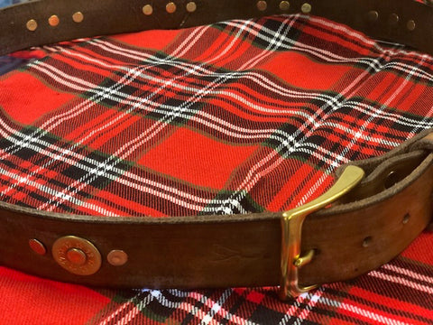 Scottish Highlands - Leather & Cartridge Belt