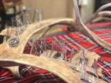 Scottish Fallow deer Whisky Flights