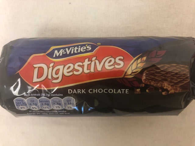 McVities Dark Chocolate Digestives Biscuits/Cookies