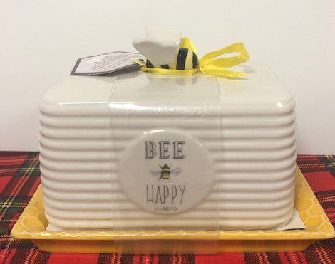 Bumble Bee Butter Dish