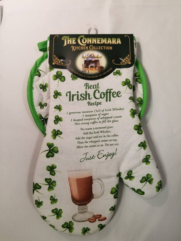 Irish Coffee Oven Mitt