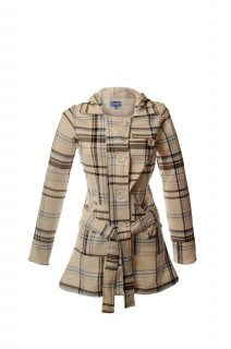 Ladies Scottish Jess Hooded Coat