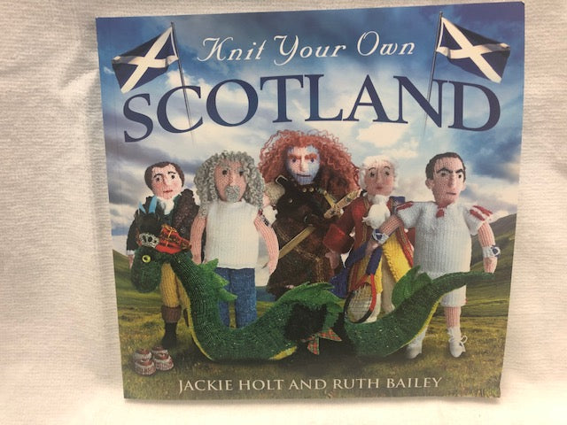 Scottish Knitting -Knit Your Own Scotland Book