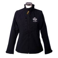 Ladies Jacket, Scotland & Thistle , Navy