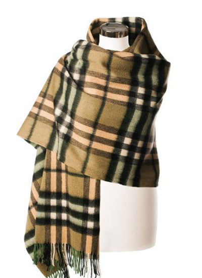 Scottish Tartan Lambswool Stole, Thomson Sherwood
