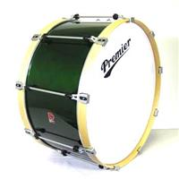 28 x 14 Premier Professional Bass Drum, Choice Of Colors Black, Blue, Red, Emerald.