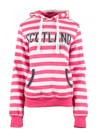 Ladies Scotland Hooded Sweat Top