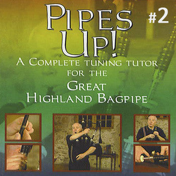 Pipes Up! by Jim McGillivray DVD