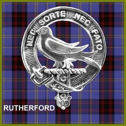 Clan Badge - Rutherford