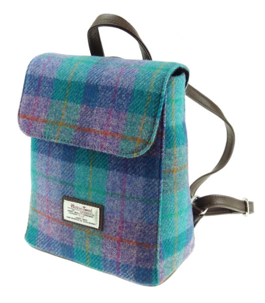 Harris Tweed Back Pack Style/Various Colors