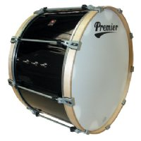 26 x 12 Premier Professional Bass Drum Black