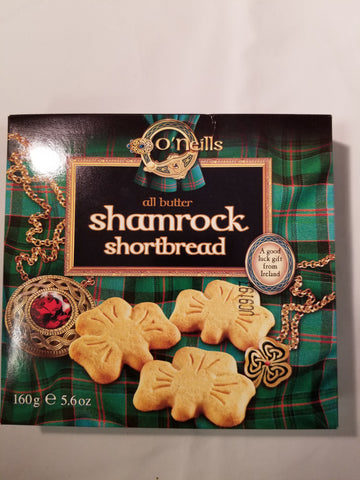 Boxed Irish Shamrock Shortbread