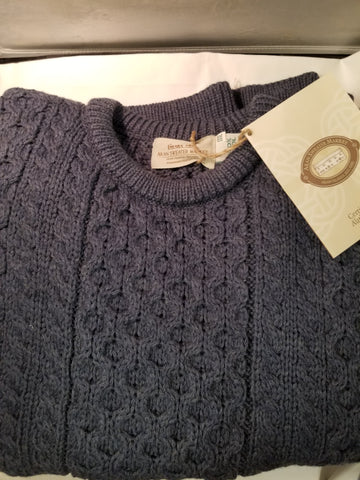 Aran Crafted Wool Irish Sweaters