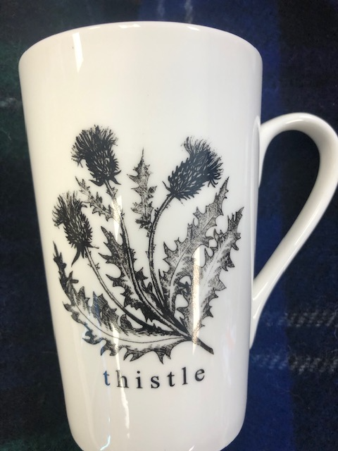 Thistle & Stag Cup Set or individual