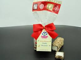 Scottish Vanilla Macaroon Christmas Gift Bag