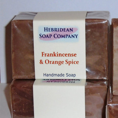 Frankincense and Orange Spice Bar