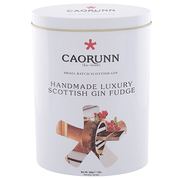 Caorunn Scottish Gin Fudge 300g Tin