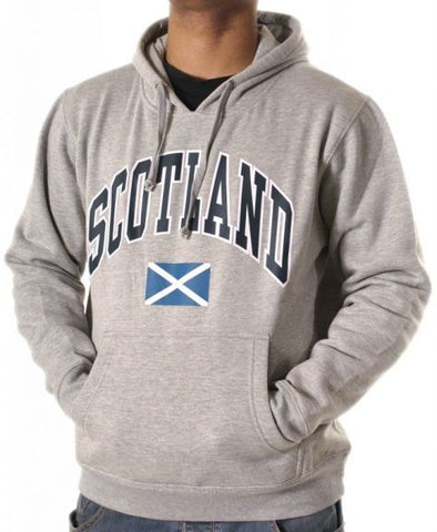 Gray Saltire Hooded top