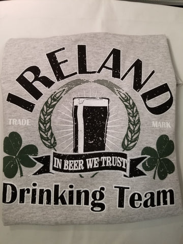 Irish Drinking T'Shirt