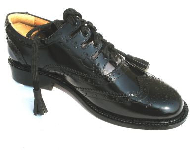 Ghillie Brogues- Dress Leather Sole