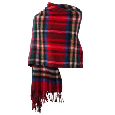 Scottish Tartan Lambswool Stole Royal Stewart