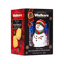 Walkers Mini Festive Shapes Snowman Box shortbread
