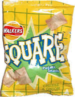 Cheese & Onion Square Crisps