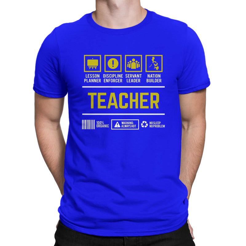 Career Shirt Teacher Men Women's T-shirt on sale
