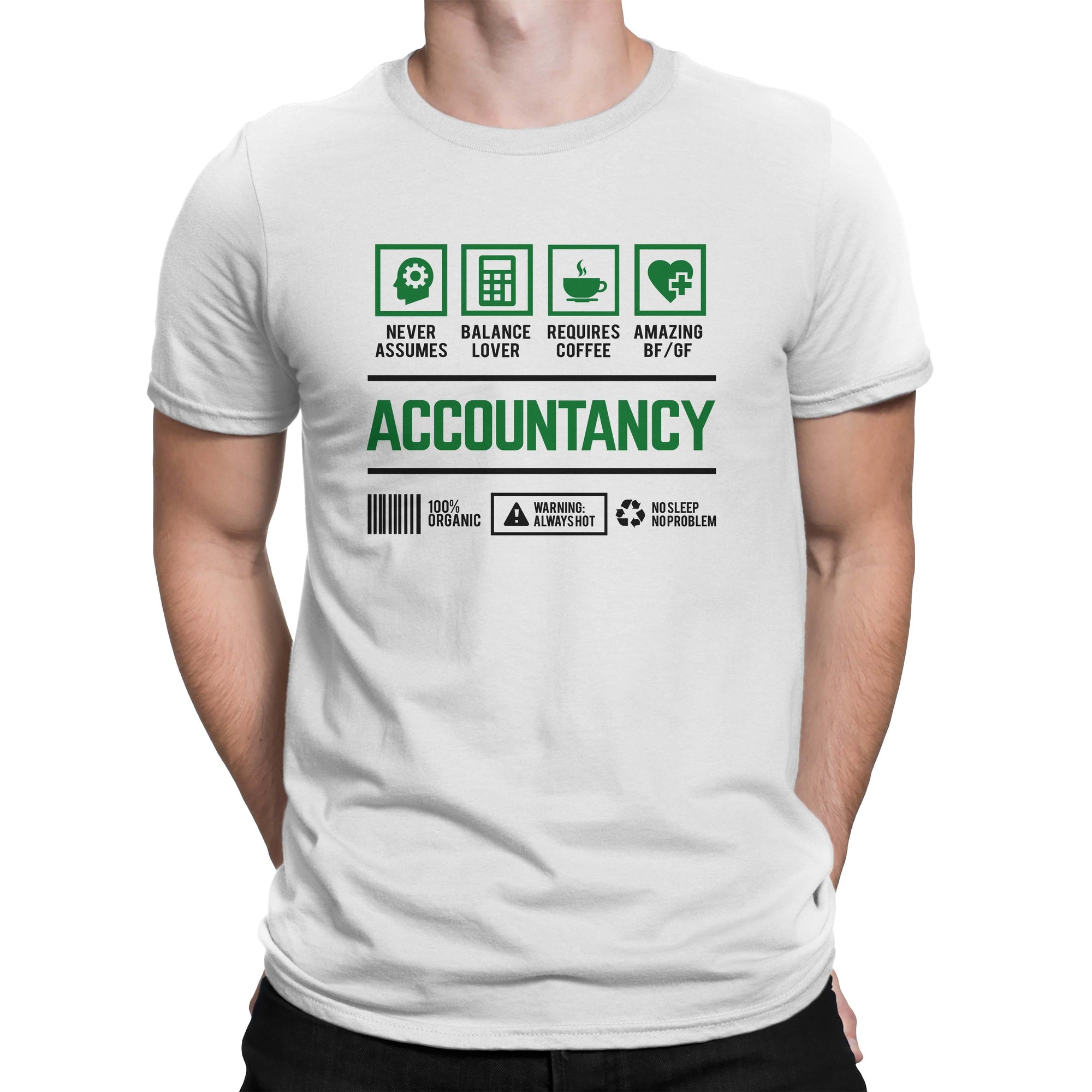 Course Shirt Accountancy Men Women's T-shirt on sale