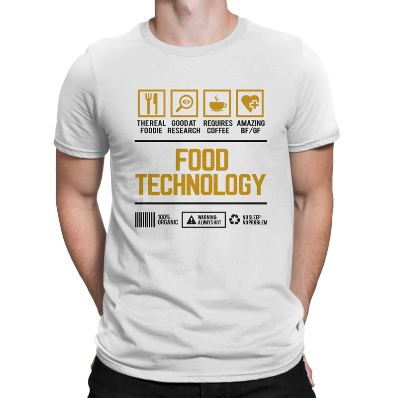 Course Shirt Food Technology Men Women's T-shirt on sale