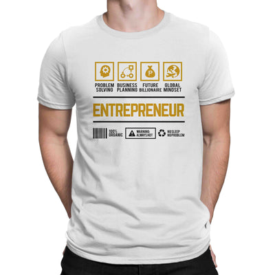 Career Shirt Entrepreneur Men Women's T-shirt on sale