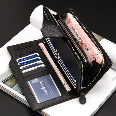 Baellery Luxury Leather Wallet