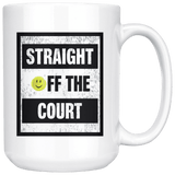 Straight Off The Court - Large Coffee Mug