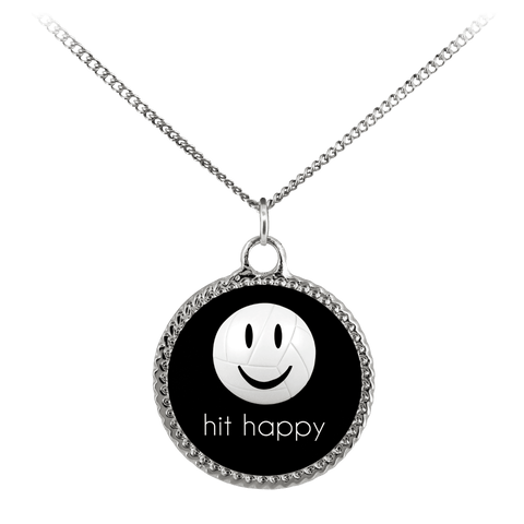 Hit Happy Volleyball Necklace - Deco Coin