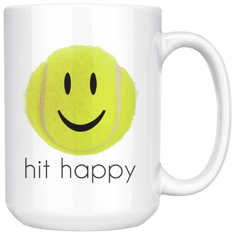 Hit Happy Large Coffee 15 oz Mug