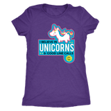 I Believe In Unicorns and Good Line Calls - Next Level Womens Triblend