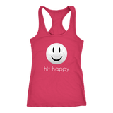 Hit Happy Volleyball Racerback Tank Top