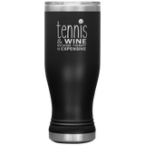 Tennis and Wine 20oz Boho Tumbler
