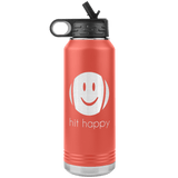 Hit Happy 32oz Water Bottle Tumbler