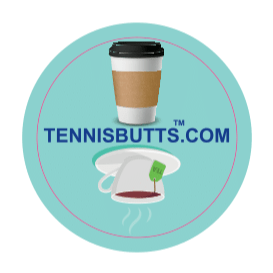 Coffee or Tea Tennis Butt Decal