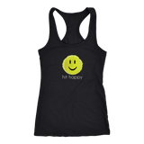 Hit Happy - Racer Back Tank Top