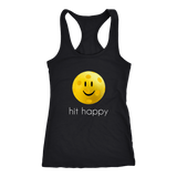 Hit Happy Pickleball Racerback Tank Top