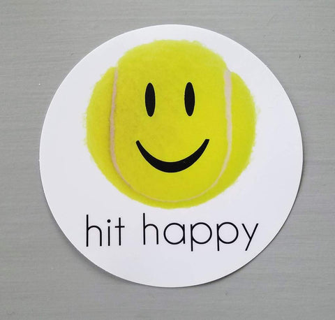 Hit Happy Car Magnet