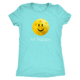 Hit Happy Pickleball - Ladies Next Level Triblend