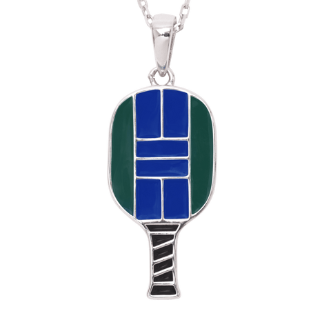 Pickleball Court Necklace