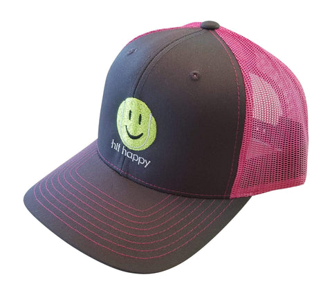 Hit Happy Tennis - Trucker Style Hat for Men or Women