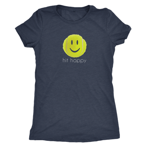 Hit Happy - Ladies Next Level Triblend Shirt