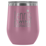 Tennis and Wine Tumbler