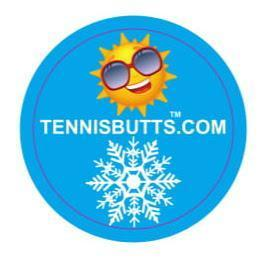 A Box Of Tennis  Butts - Sunshine or Snow (6 packs for price of 5)