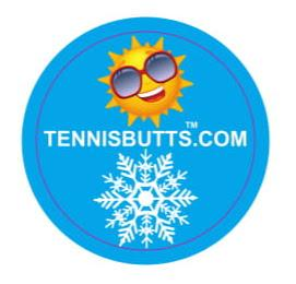 Sunshine or Snowflake Tennis Butt